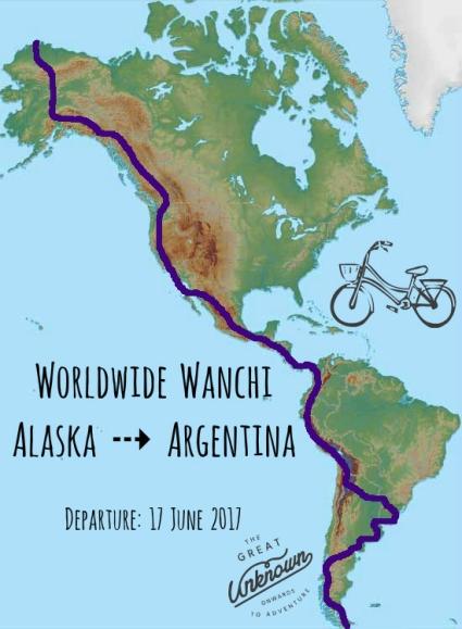 Alaska to Argentina departure