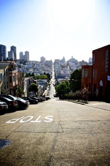 San Francisco street, United States