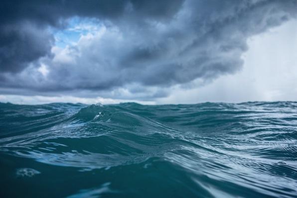 Cloudy waves, Zanzibar